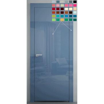 Межкомнатная дверь Glossify Individual Цвет по выбору клиента.