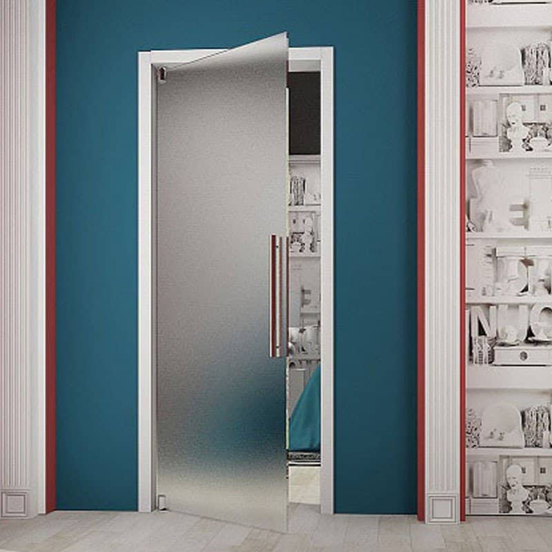 Стеклянные двери Rezident Design