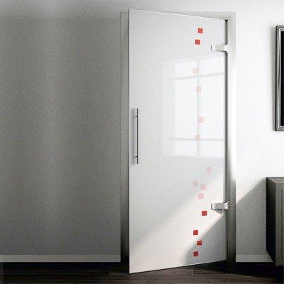 Межкомнатная стеклянная дверь G004