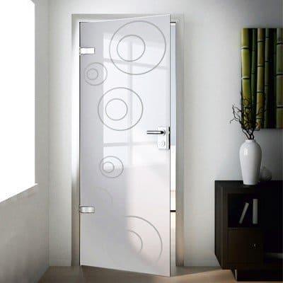 Межкомнатная стеклянная дверь G006