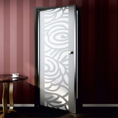 Межкомнатная стеклянная дверь G008