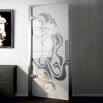 Межкомнатная стеклянная дверь G026