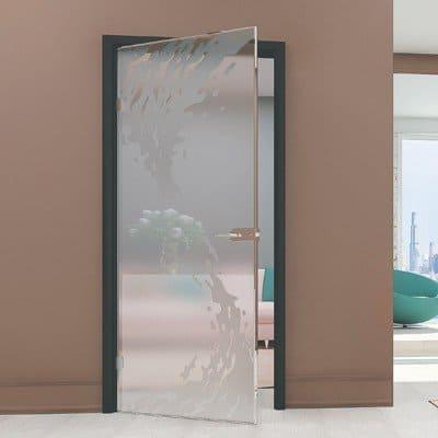 Межкомнатная стеклянная дверь G027
