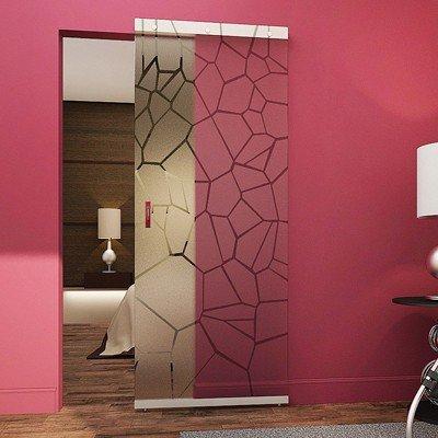 Межкомнатная стеклянная дверь G030