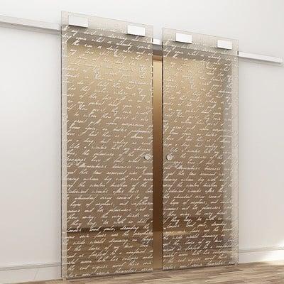 Коллекция цельностеклянных дверей