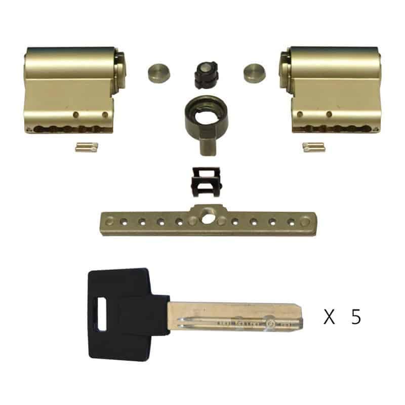 Цилиндровый механизм (личина) MODULAR BASE-S