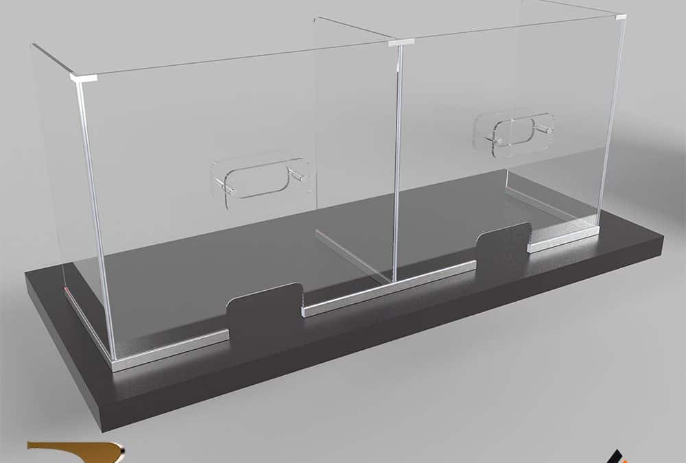 Настольные перегородки Insulation Rezident Design