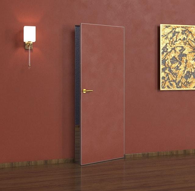 Модель Selfartist Hidden Ultra, скрытая межкомнатная дверь под покраску